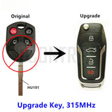 Upgraded Remote Key for Ford  Escape Focus C-Max Connect HU101 Blade