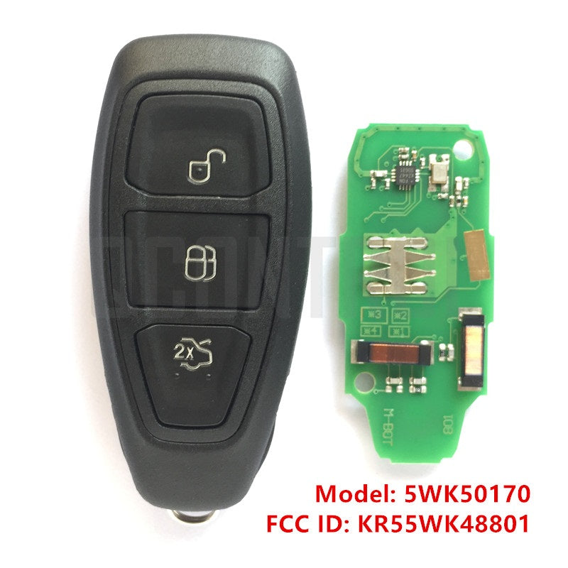 Car Remote Smart Key Fit for Ford 5WK50170 FCC ID: KR55WK48801 - Car Diagnostic Tool