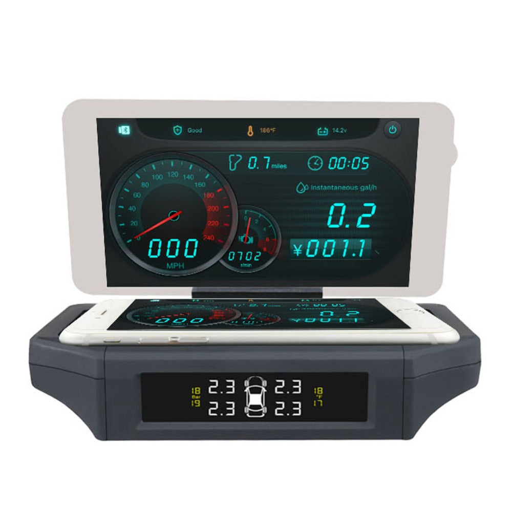 AUTOOL X360 3-IN-1 Car Head Up Display With TPMS Monitor KMH/MPH - Car Diagnostic Tool