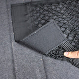 Car Velcro double net bag trunk storage storage car built-in bag car fire extinguisher fixed net