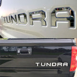 Car-styling Word letter 3D Plastic TUNDRA Logo Car Sticker SPORT Emblem Badge Door Decal Auto Accessories for Toyota TUNDR