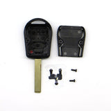 Replacement 3 Button Key Shell Uncut Blade For Land Rover