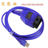 cheapest vag 409 1 kkl usb vag 409 usb 409 1 usb kkl usb chip FT232RL cable scanner scan tool interface for Audi VW