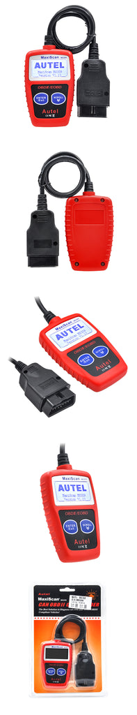High quality AUTEL MaxiScan MS309 OBD2 OBDII EOBD Scanner Code Reader Data Tester Scan Diagnostic Tool MS 309 better than MS300