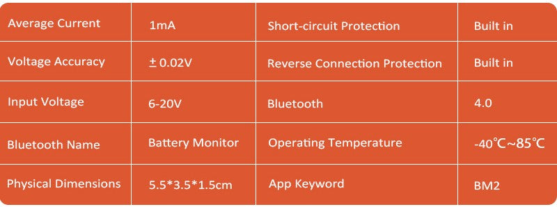 12V Bluetooth 4.0 Car Battery Monitor Tester Diagnostic Tool For Android IOS Iphone Digital Analyzer Battery Measurement Units - Car Diagnostic Tool