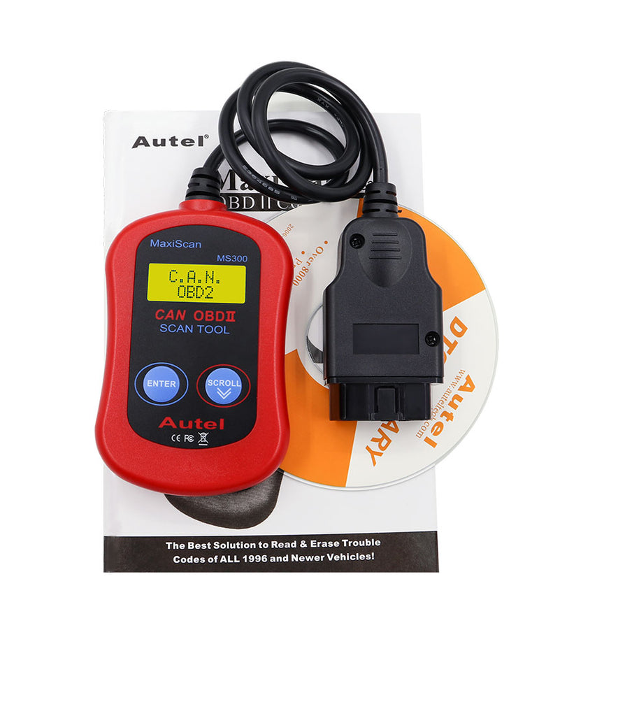 Autel MS300 CAN OBDII Auto Scanner MS 300 OBD2 EOBD Car Code Reader Data Tester Diagnostic Tool better than ELM327 BLUETOOTH - Car Diagnostic Tool