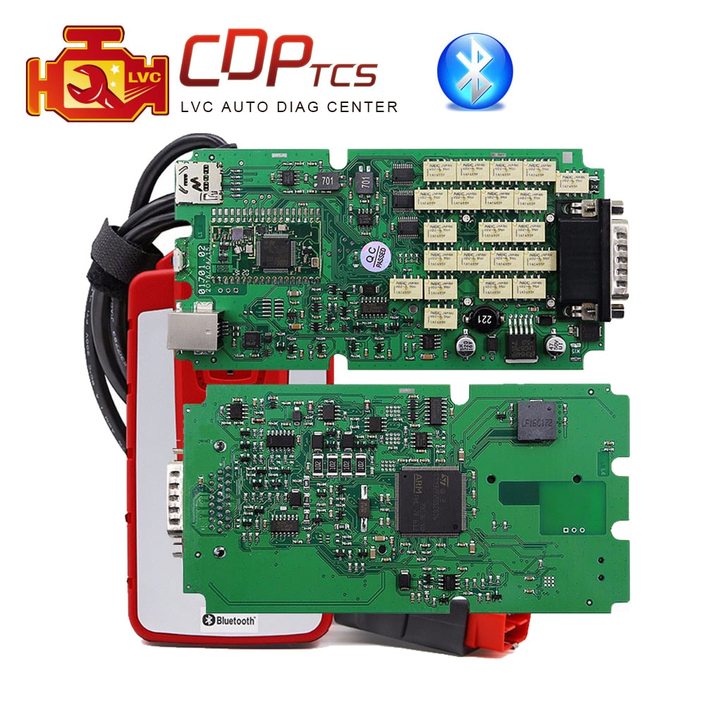 WOW CDP TCS v5.008 R 2A+ High quality single green PCB bluetooth cars trucks