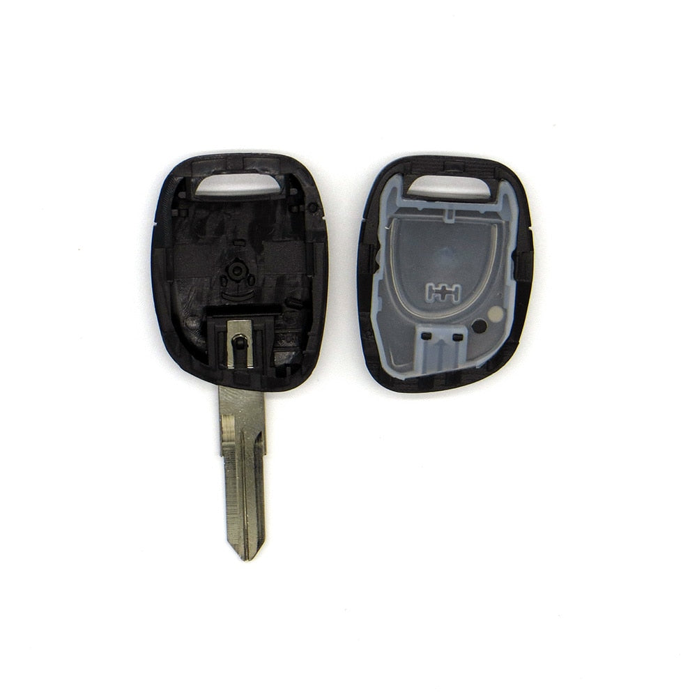 Replacement 1 Button Remote Car Key Shell Fob For Renault