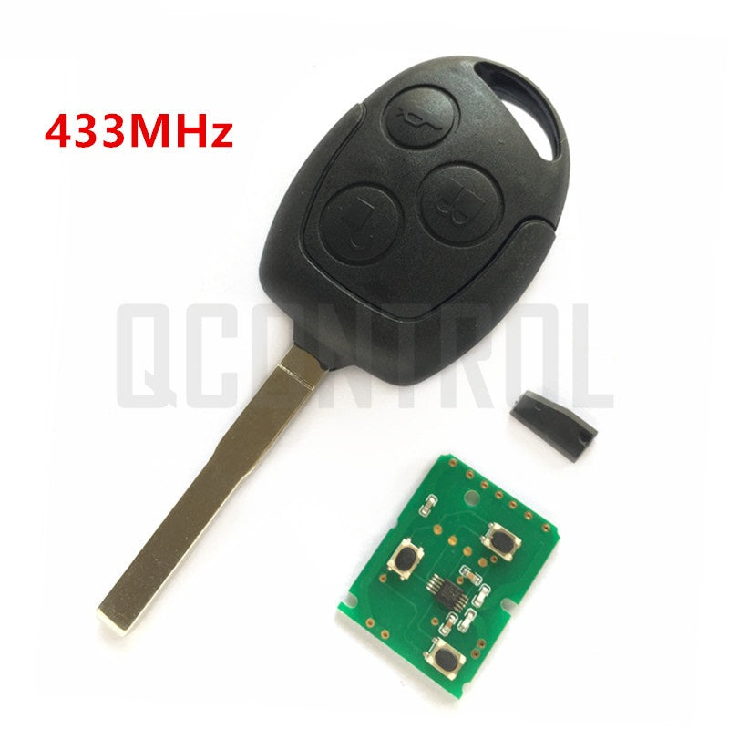 Remote Key DIY for Ford Fusion Focus Mondeo Fiesta Galaxy HU101 Blade