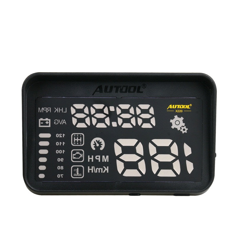 AUTOOL X220 Car Head-Up Display Projector With Hood Clear Projection - Car Diagnostic Tool