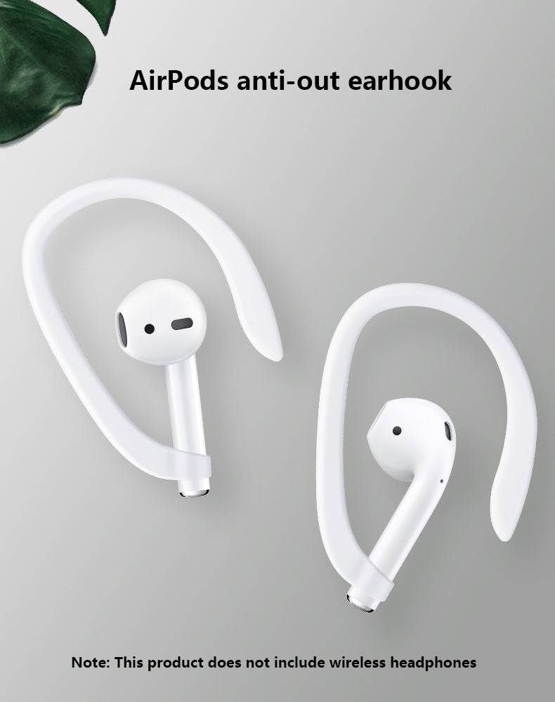 NEW  Protective Earhooks Holder Secure Fit Hooks Wireless Earphone Accessories Silicone Sports Anti-lost for i7s tws