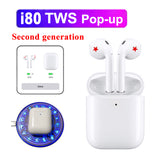 1:1 AP2 Pop up i80 TWS Wireless Earphone Bluetooth 5.0 headset Touch control earbuds - Car Diagnostic Tool