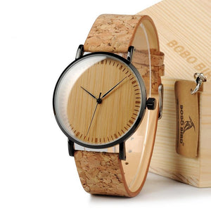 Montres - La Mojave - Green Wood