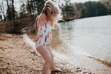 Load image into Gallery viewer, One Piece Surfer Girl Swimsuit