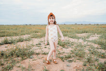 Load image into Gallery viewer, One Piece Muted Toned Neutral Rainbow Swimsuit