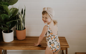 One Piece Clementine Swimsuit