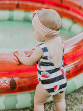 Load image into Gallery viewer, One Piece Watermelon Swim Suit