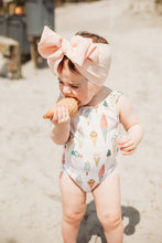 Load image into Gallery viewer, One Piece Ice Cream Cone Swim Suit