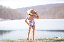Load image into Gallery viewer, One Piece Cheetah Swimsuit