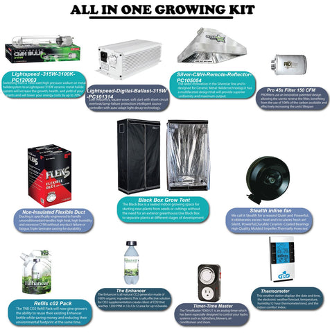 ALL-IN-ONE GROW KIT Lvl 1.