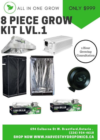 All in one grow kit + Consultation