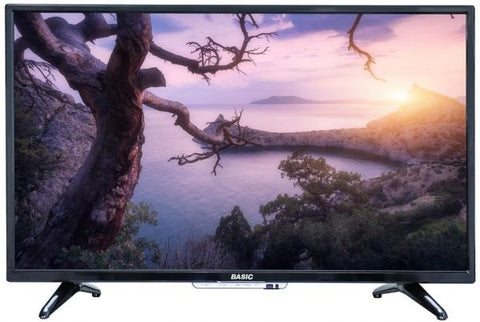 BASIC 40 Inch LED Standard TV Black - BA-LED40D
