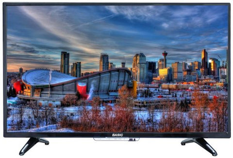 BASIC 49 Inch LED Standard TV Black - BA-LED49D