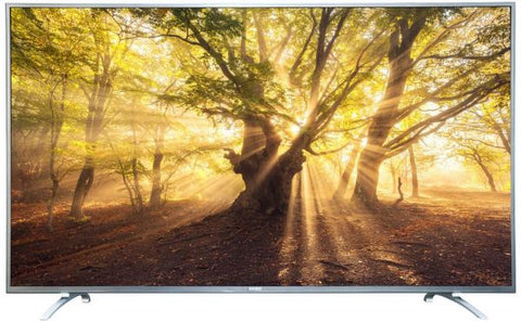 BASIC 65 Inch LED Smart TV Silver - BA-LED65UDS