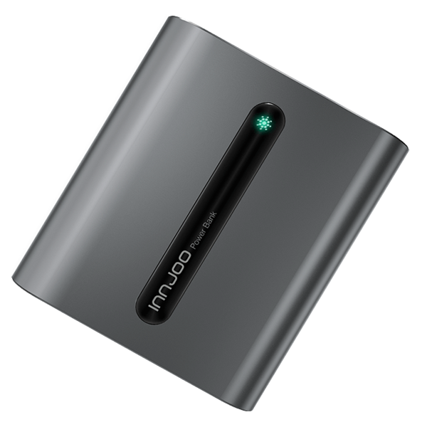 InnJoo E6 - Power Bank - 10400 mAH - Gray