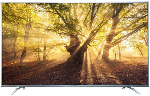 FISHER 65 Inch LED Smart TV Silver - FT-LED65UDS