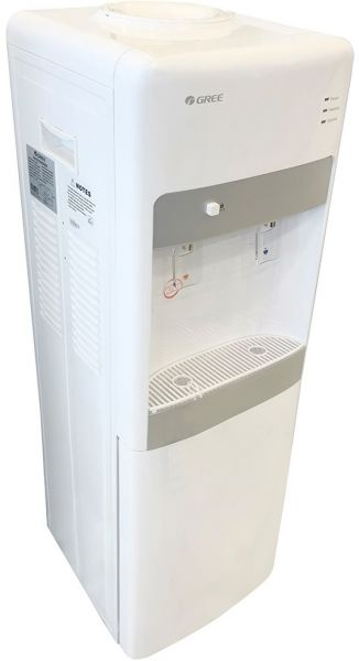 Gree Top and Bottom Literoading Water Dispenser Hot and Cool , White -GYWS-LRS28W