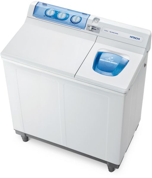 Hitachi Washing Machine , 7Kg , Top Load , White , PS985KJ WH