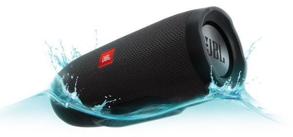 JBL Charge 3 Waterproof Bluetooth Speaker , Black