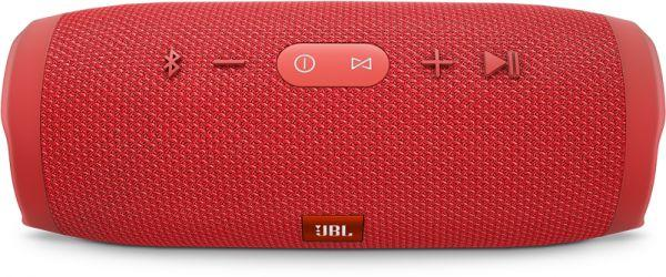 JBL Charge 3 Portable Bluetooth Speaker - RED