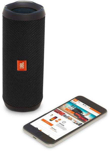 JBL Flip 4 Waterproof Portable Bluetooth speaker JBLFLIP4BLK - BLACK