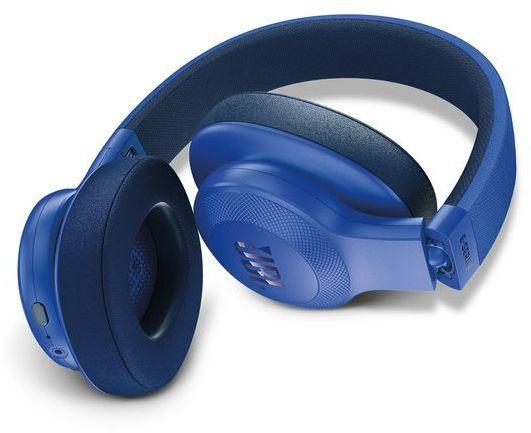 JBL On-Ear Bluetooth Headphones, Blue - E55BT