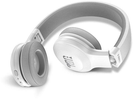 JBL On-Ear Bluetooth Headphones, White - E45BT