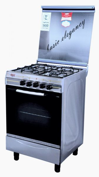 Gas stove With 4 Gas Burners, Silver -S-4404S
