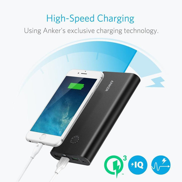 Anker PowerCore+26800 and Power Port+1