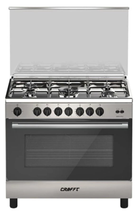 CRAFFT - Full Safety Gas Cooker CCB9060FS Grey