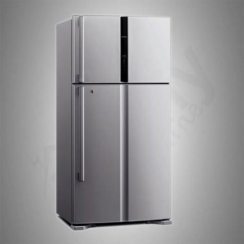 Hitachi Two Doors Refrigerator,18.02 Cu.Ft RV650PS3KXINX