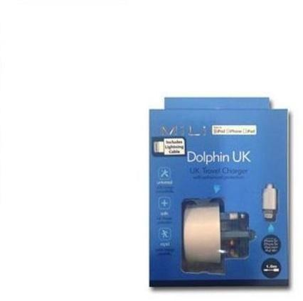 MiLi Dolphin UK iPhone 5 Dual Output Charger