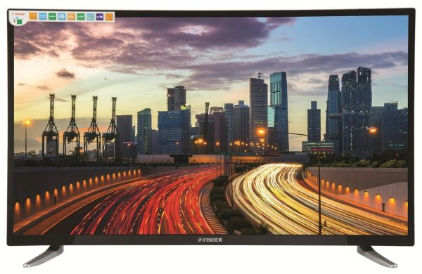 FISHER 49 Inch LED Standard TV Black - FC-LED 49