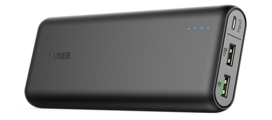 Anker 20000mAh Portable Charger PowerCore 20000 with Quick Charage 3.0- Ultra High Capacity Power Bank with 4.8A Output