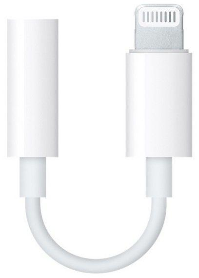 Headphone Adapter for iPhone 7, White