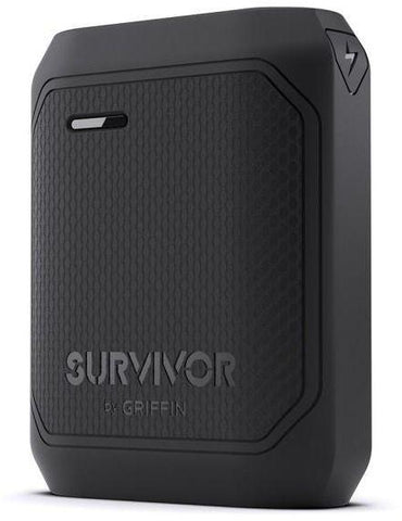 Portable battery charging port one with a capacity of 10050 mAh of Griffin - Black