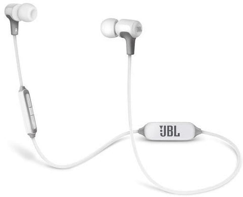 JBL E25 BT Wireless in-ear headphones, White