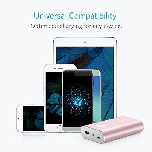 Anker 13400mAh PowerCore+ with Quick Charge 3.0 Power Bank - Pink, A1316H51