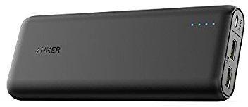 20100 Anker black power bank