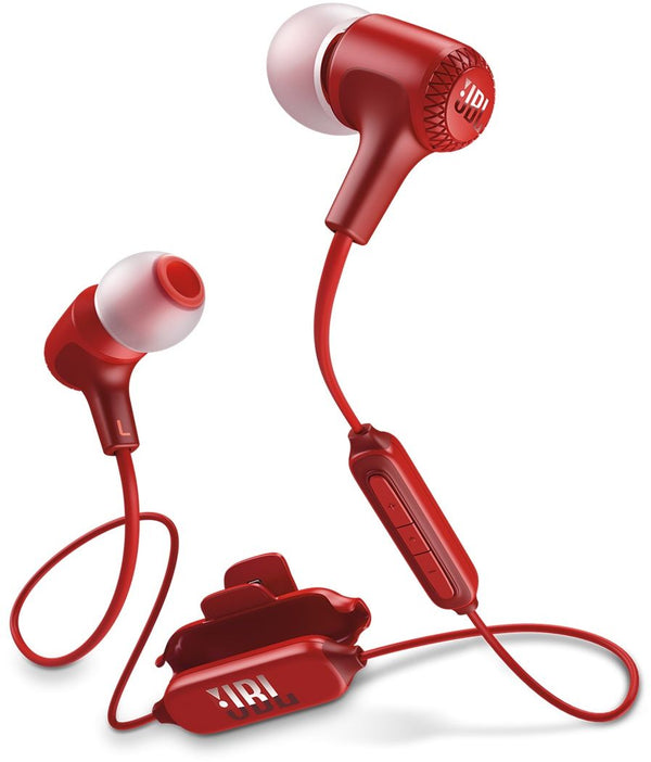 JBL JBLE25BTRED In Ear Headphone Wireless - Red